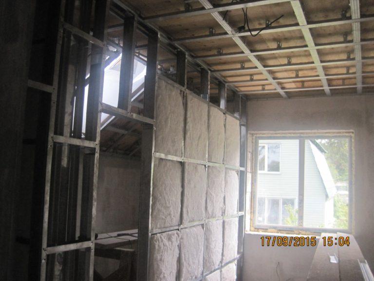 монтаж стен внутренняя отделка владивосток