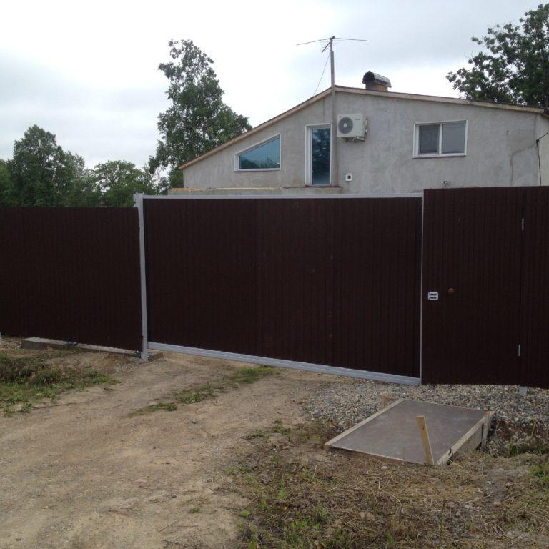 установка ворот владивосток