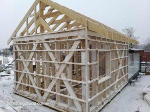 каркасный дом в приморском крае, строительство