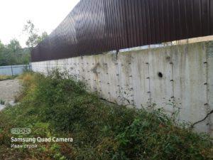 Конструкция подпорной стенки в частном доме