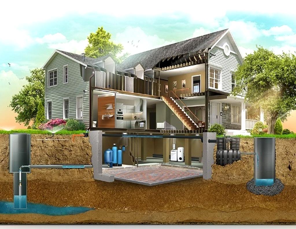 Подключение воды к частному дому